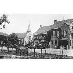 Gemeentehuis en Ger. Kerk, Baarland