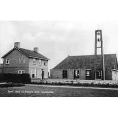 Geref. Kerk en Pastorie Anna Jacobapolder