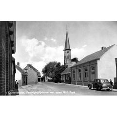 's Gravenpolder, Verenigingsgebouw met toren N.H. Kerk