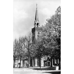 Arnemuiden, marktplein met kerk