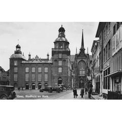 Goes, Stadhuis en Kerk